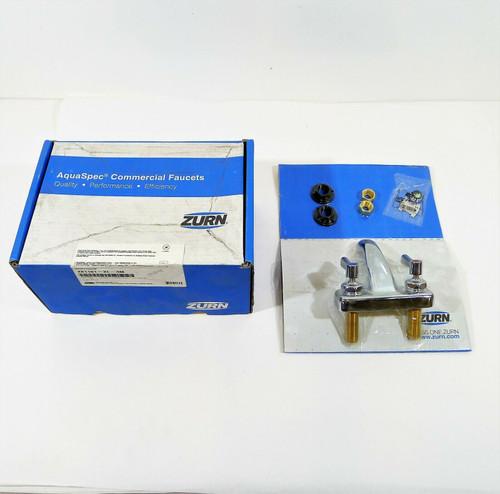 """Zurn 4"""" Center Set Lavatory Faucet with Lever Handle Z81101-XL-3M - OPEN BOX"""