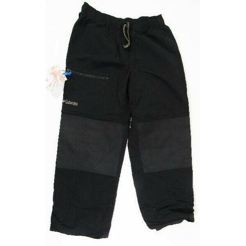 Columbia Sportswear Black Men's Ski Pants Size M **Tear on Bottom**