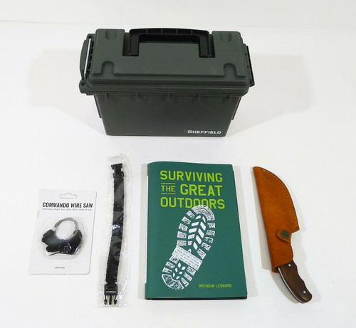 Surviving the Great Outdoors, Sheffield Field Box, Rill Simple Hook Knife Kit
