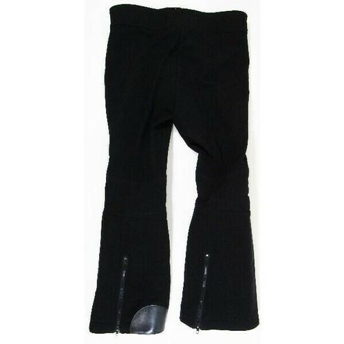 Sportcaster Black Quarter Zip Leg Classic Men's Ski/Snowboard Pants Size S/36