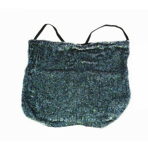 Retrofete Jenna Top Metallic Turquoise Sequined Women's Blouse NWT Size XS