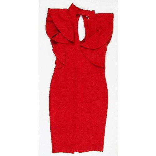 A'Gaci Red Women's Body Contour Cocktail Dress Size M **NEW WITH TAGS**
