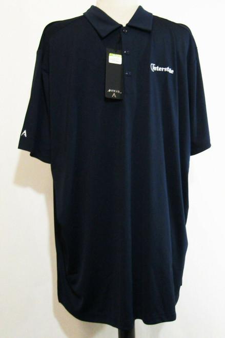 Antigua Tribute Navy Blue Men's Personalized Polo Shirt NWT Size 2XL