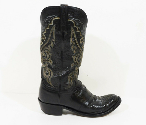 Single Boot** Right-Foot Only**  Lucchese 1883 Men's Black Boot Size 9D  N1006R4