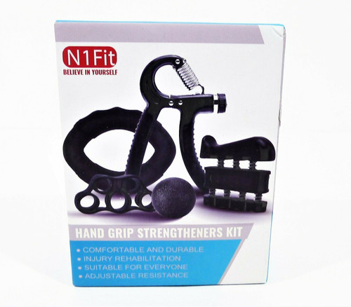 N1 Fit Hand Grip Strengtheners Kit - NEW SEALED