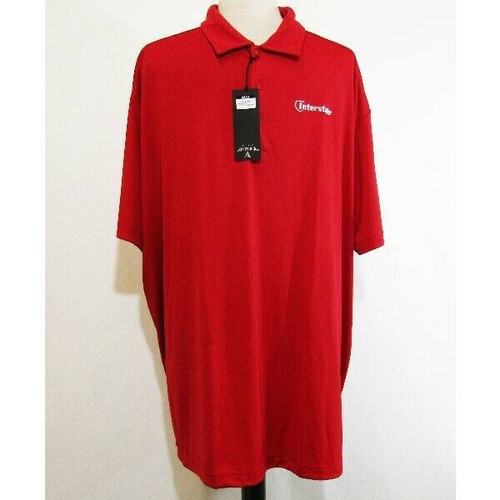Antigua Tribute Red Men's Personalized Polo Shirt NWT Size 3XL