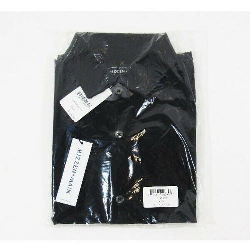 Mizzen + Main Black Leeward Dean Men's Dress Shirt NWT Size M