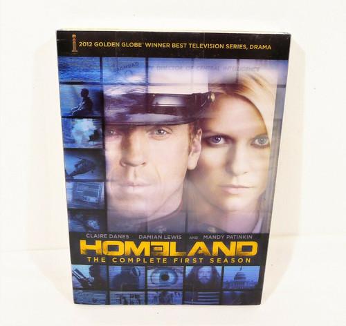 Homeland The Complete First Season DVD 4-Disc Set