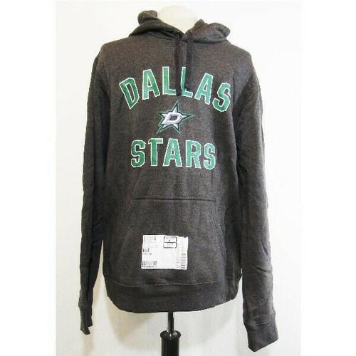Dallas Stars NHL Official Fanatics Apparel Gray & Green Men's Hoodie NWT Size L