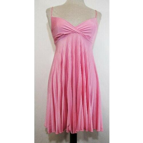 Soprano Pink Spaghetti Strap Women's Baby Doll Dress Size Small