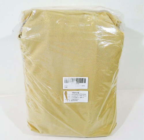 """Vailge Beige & Brown Patio Bench Cover Medium 76"""" W x 32.5"""" D x 33"""" H"""