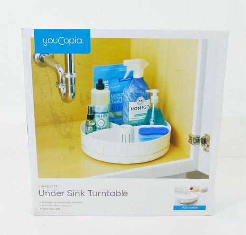 YouCopia White Under Sink Organizer - NEW - DAMAGED BOX