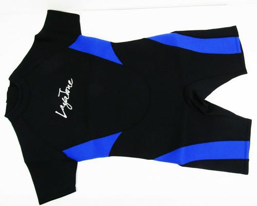 Laya Jone Black & Blue Short Sleeve Women's Wetsuit Size XL **NEW IN PACKAGE**