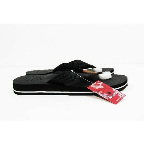 Kuailu Yoga Mat Leather Men's Flip Flop Sandals Size 45/ U.S. Size 11 NWT
