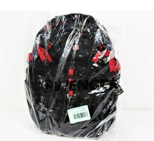 """Wenger Maxxum Black & Red 16"""" Laptop Backpack w/ Tablet Pocket *NEW IN PACKAGE*"""