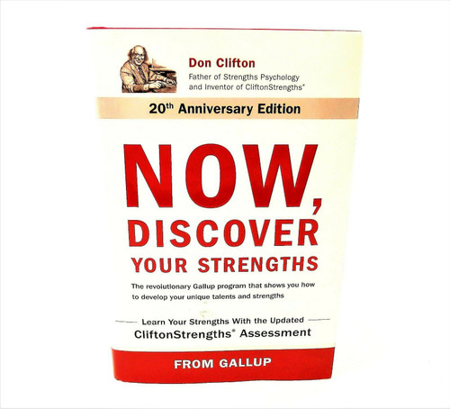 Now, Discover Your Strengths Hardback Book **INSCRIBED