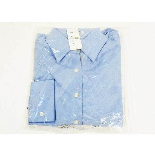 Bill Blass Premium Women's Blue Long Sleeve Dress Shirt Size M **NEW WITH TAGS**