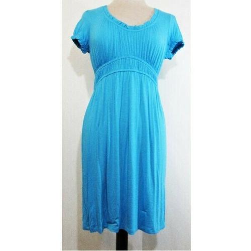 International Concepts Sky Blue Women's Short Sleeve Dress NWT Size S