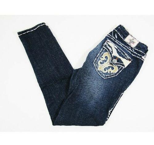 Laguna Beach Jean Co. Medium Wash Women's Skinny Jeans Size 31 **Has Stain**