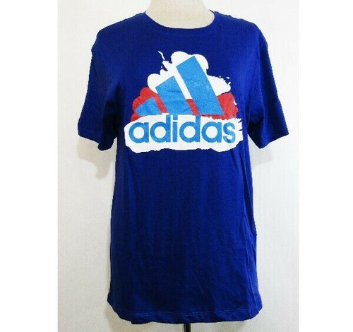Adidas Multicolor Short Sleeve Women's T-Shirt Size Large *NEW IN PACKAGE*