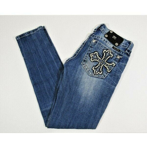 Miss Me Light Wash Women's Signature Skinny Jeans Size 28