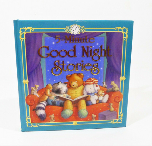 5 Minute Good Night Stories Hardcover Book