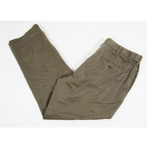Perry Ellis Portfolio Men's Light Brown Dress Pants Size 36 x 29