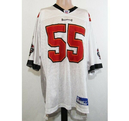 Reebok NFL Brooks #55 Tampa Bay Buccaneers Jersey Size XL *Has Stains*