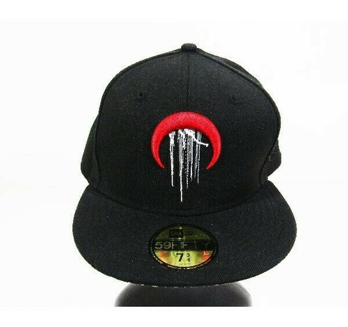 New Era Cap Co. 59Fifty BLVCK COLVMN Fitted Ball Cap Size 7 3/4 (61.5cm)