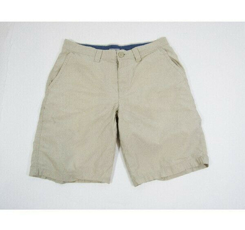 Columbia Sportswear Men's Khaki Casual/Outdoor Shorts Size 32w *Light Stain