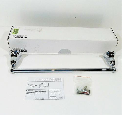 "Kohler Kelston 18"" Towel Bar K-13500-CP in Polished Chrome - OPEN BOX"