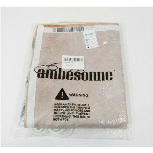 """Ambesonne Cloth Fantasy Shower Curtain w/ Hooks 70"""" Long **Open Box**"""