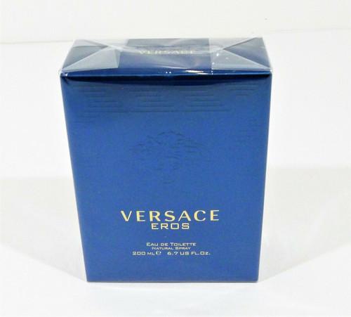 Versace Eros for Men Eau de Toilette Spray 6.7 oz  - NEW SEALED
