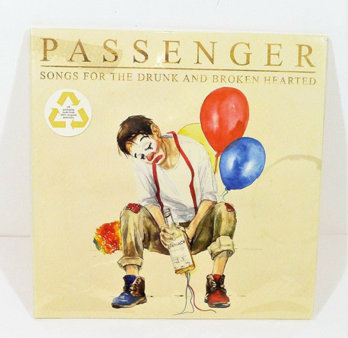 Passenger Songs for the Drunk and Broken Hearted Vinyl LP - NEW SEALED