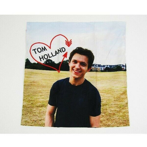 """Tom Holland Decorative Square Pillow Cover 17"""" x 17"""" **NEW IN PACKAGE**"""