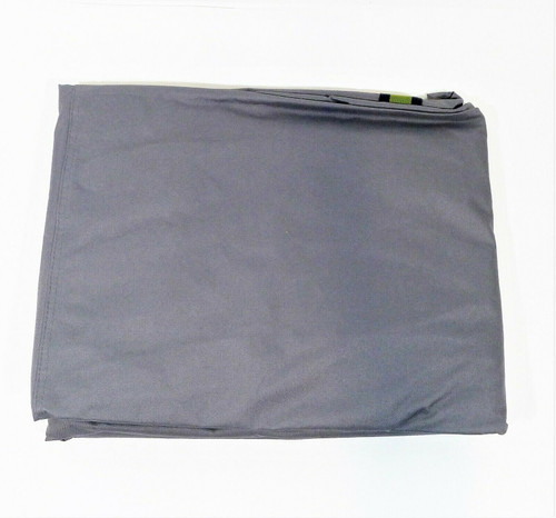 """Duck Covers Gray 82"""" Soteria RainProof Double Wide Patio Chaise Lounge Cover NEW"""