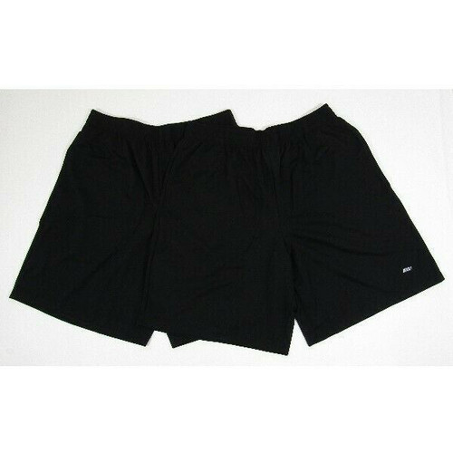 Amazon Essentials 2 Pack Men's Black Athletic Shorts Size M **NEW IN PACKAGE**