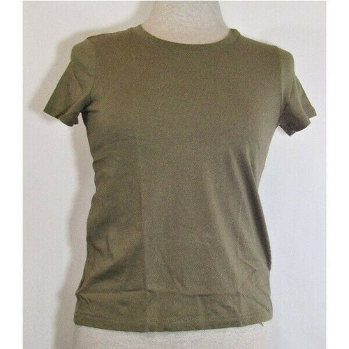 Madewell Women's Olive Short Sleeve T-Shirt Size XXS **NEW IN PACKAGE**