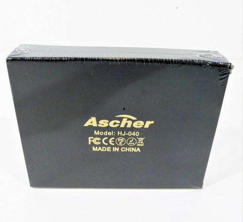 Ascher Rechargeable LED Bike Light Set 4 Light Mode Options 2 USB Cables - NEW