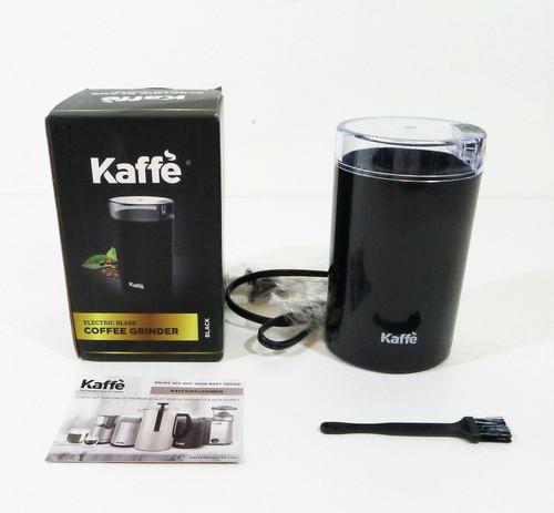 Kaffe Black Electric Coffee Grinder  3oz Capacity KF2010 - OPEN BOX