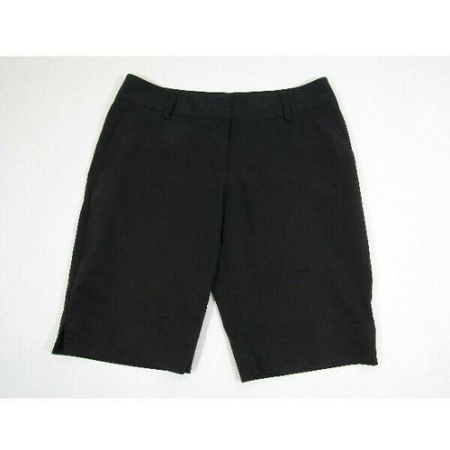 Adidas Climalite Women's Black Bermuda Shorts w/ Pockets Size 6