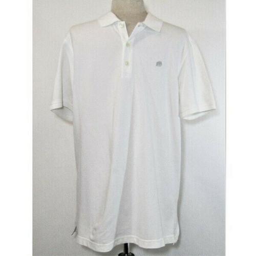 Banana Republic Men's White Short Sleeve Polo Shirt Size XL