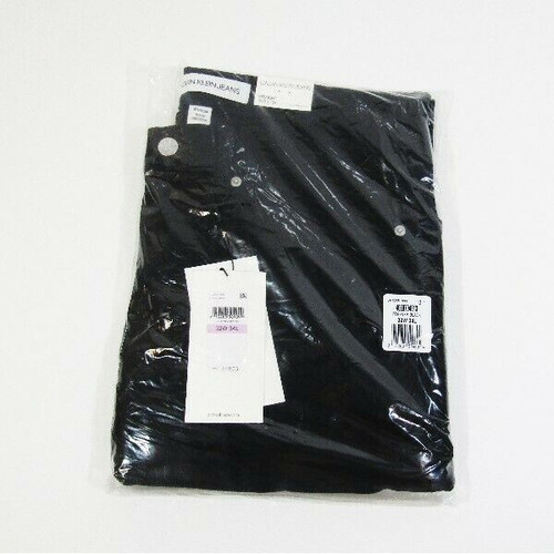 Calvin Klein Jeans Men's Black Straight Leg Jeans Size 32W x 34L **NWT**