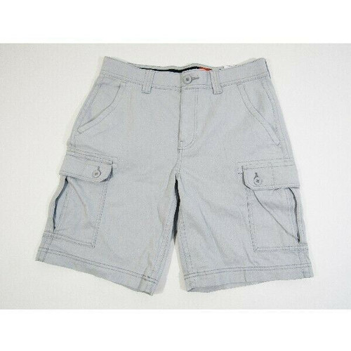 St. John's Bay Men's Gray Comfort Stretch Shorts Size 32 **NEW WITH TAGS**