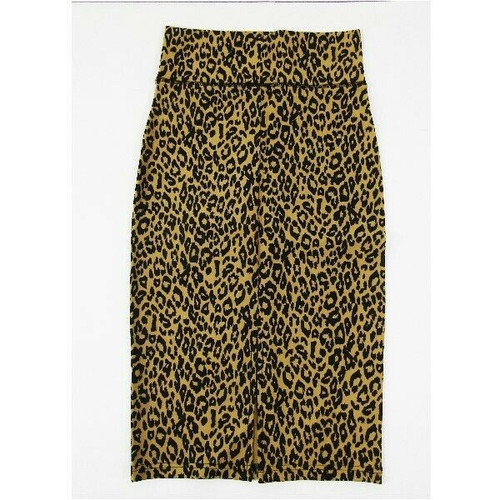 A2Y Women's Cheetah Print Pencil Skirt Size Small **NEW IN PACKAGE**