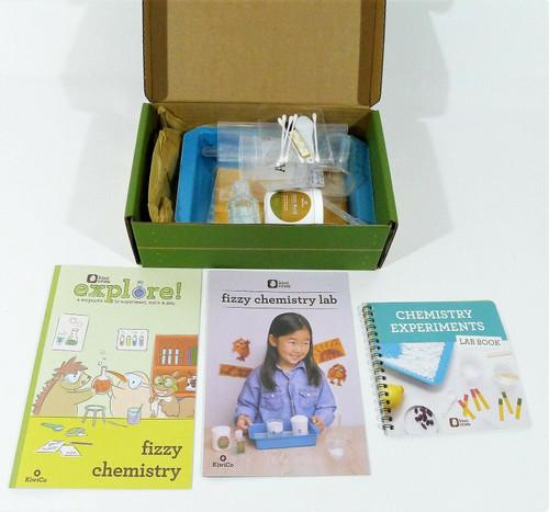 KiwiCo Fizzy Chemistry Lab Ages 5+ - OPEN BOX
