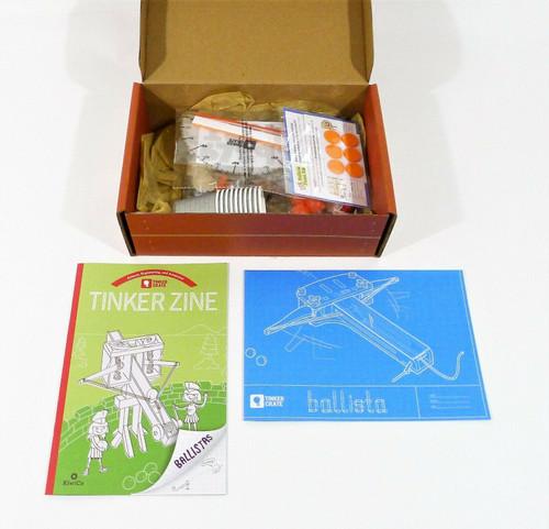 KiwiCo Fizzy Ballista Ages 9+ - OPEN BOX