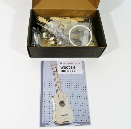 KiwiCo Fizzy Wooden Ukulele Ages 14+ - OPEN BOX