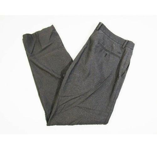 Dockers Men's 100% Cotton Gray Classic Slim Fit Dress Pants Size 36 x 32
