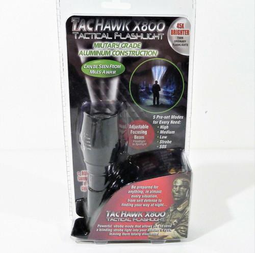 TacHawk X800 Tactical Flashlight - NEW SEALED